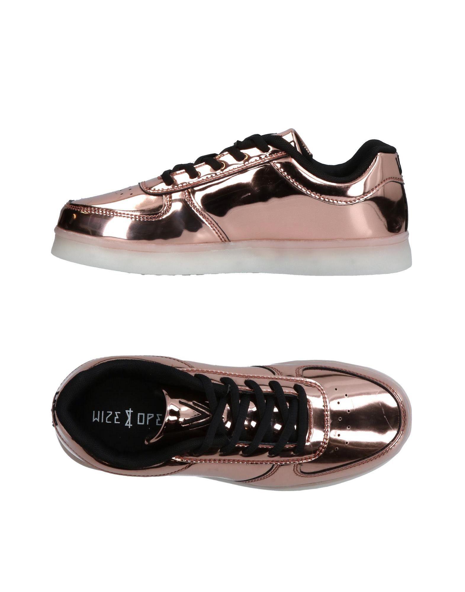 《送料無料》WIZE & OPE レディース スニーカー&テニスシューズ(ローカット) ピンク 7 紡績繊維