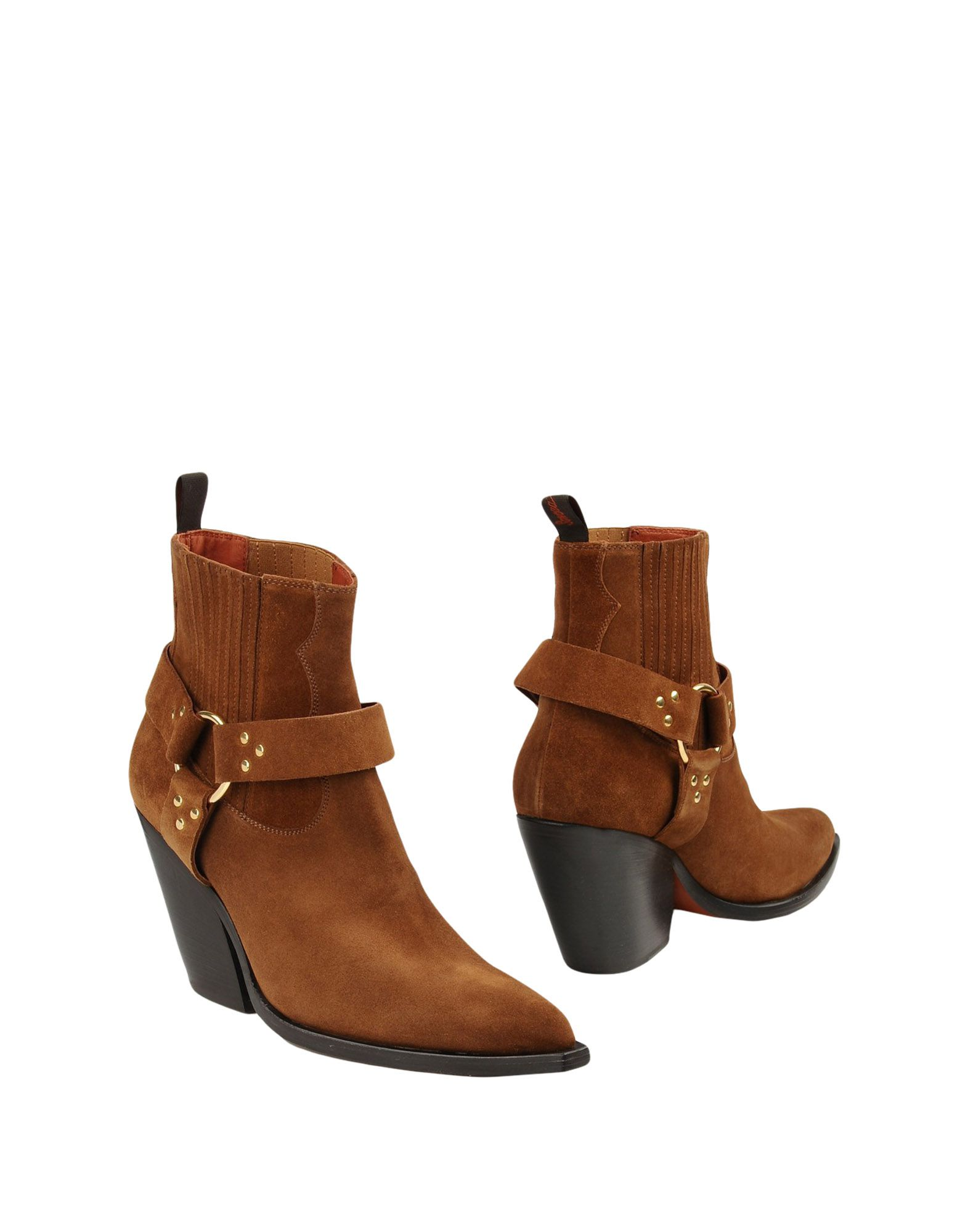 SONORA Ankle Boots in Brown
