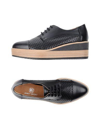 Фото - Обувь на шнурках от JANET SPORT черного цвета
