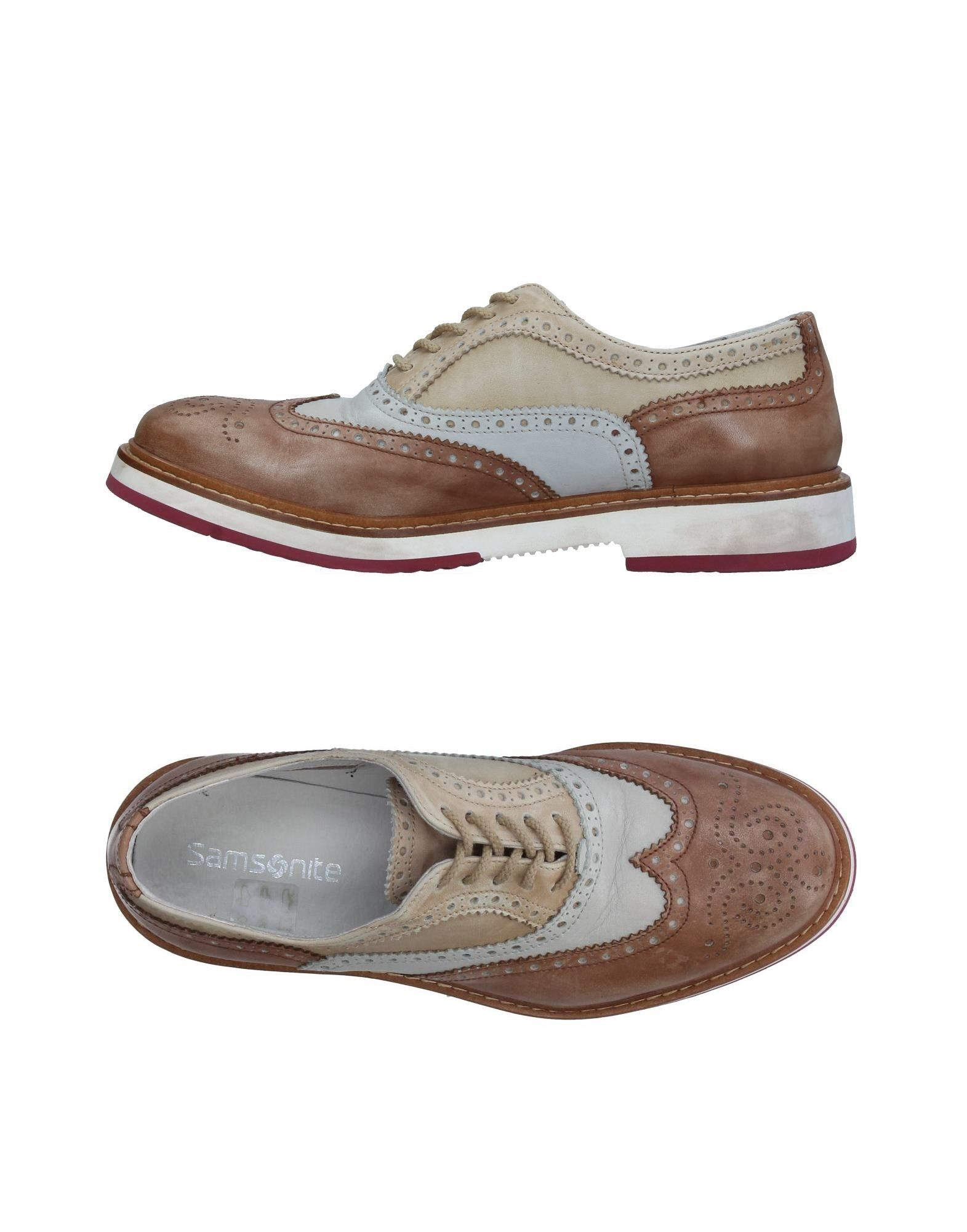 цена SAMSONITE Обувь на шнурках онлайн в 2017 году