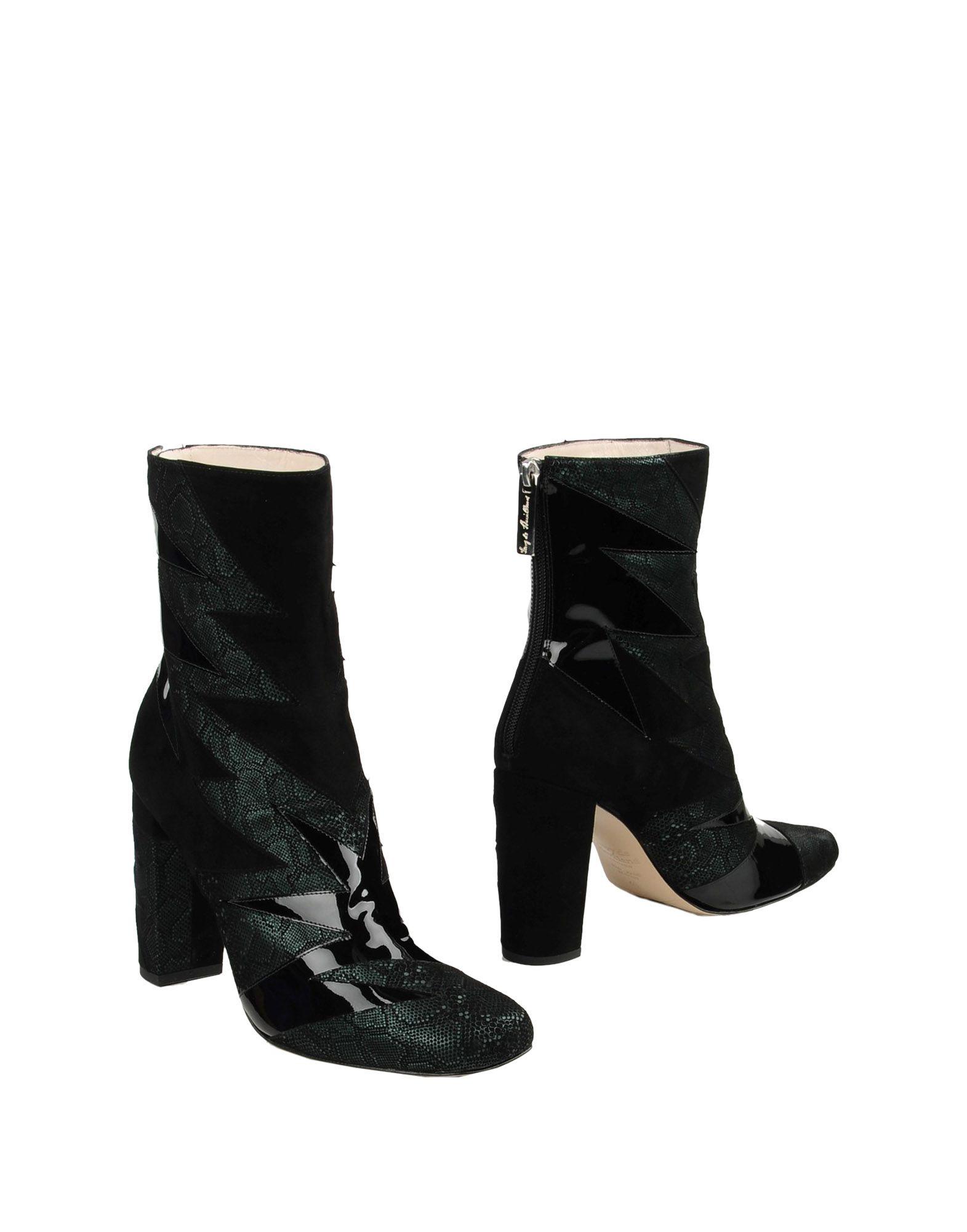 TERRY DE HAVILLAND Полусапоги и высокие ботинки d s de полусапоги и высокие ботинки