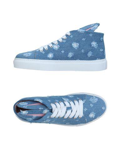 Фото - Высокие кеды и кроссовки от MINNA PARIKKA синего цвета