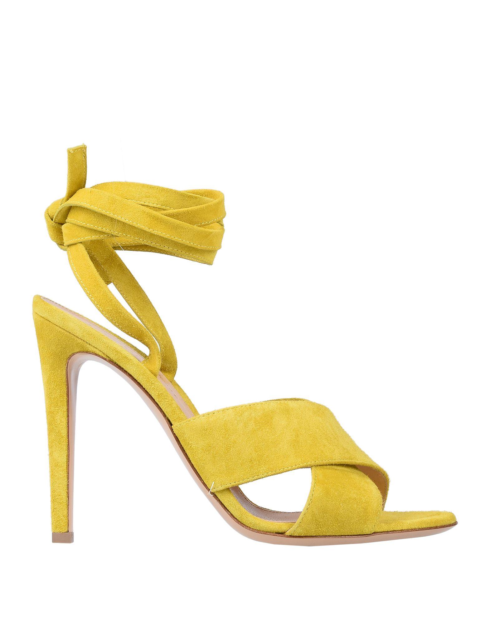 Gianvito Rossi Sandals In Yellow | ModeSens