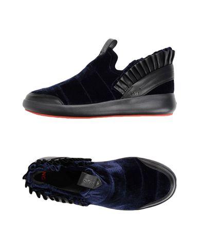 Купить Низкие кеды и кроссовки от CLONE темно-синего цвета
