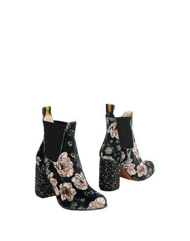 Купить Полусапоги и высокие ботинки от LEO STUDIO DESIGN темно-зеленого цвета