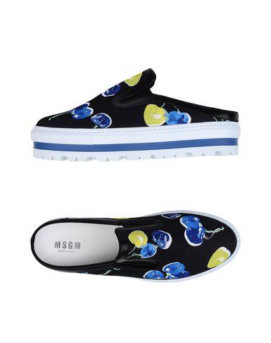 Купить Низкие кеды и кроссовки от MSGM черного цвета