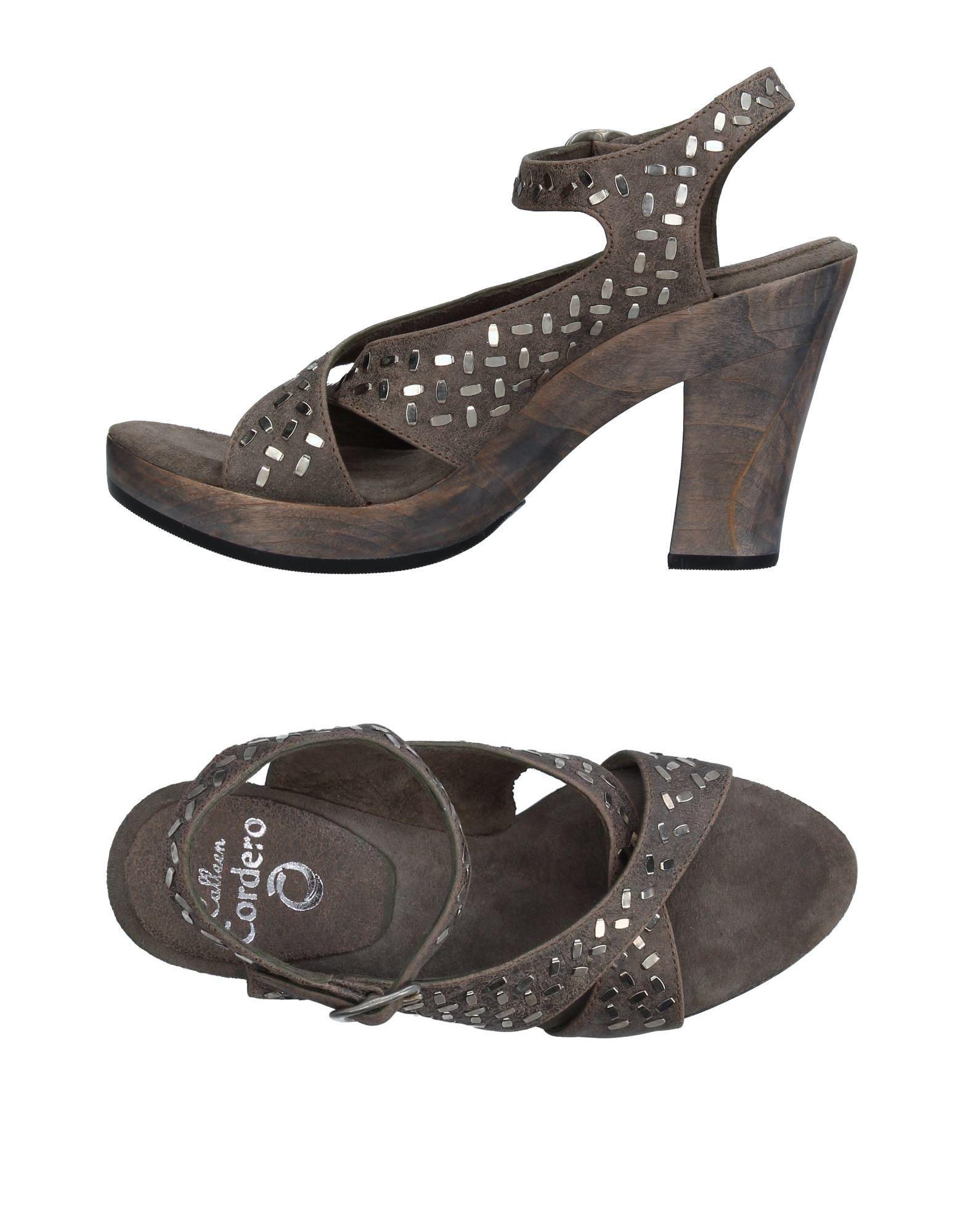 CALLEEN CORDERO Sandals in Grey