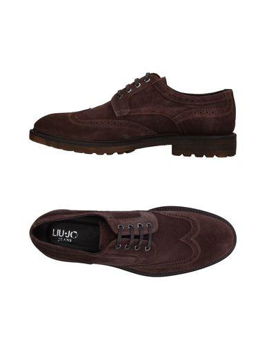 Фото - Обувь на шнурках от LIU •JO MAN коричневого цвета