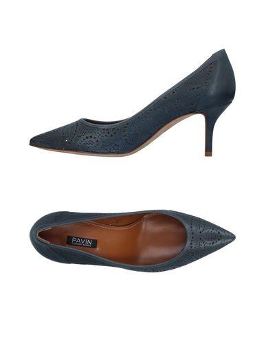 Фото - Женские туфли PAVIN грифельно-синего цвета