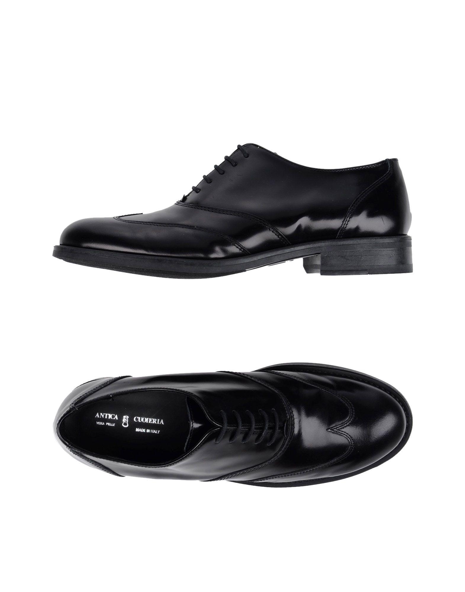 купить ANTICA CUOIERIA Обувь на шнурках дешево