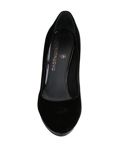 Фото 2 - Женские туфли BORGONUOVO черного цвета