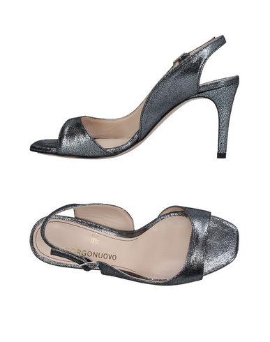 Фото - Женские туфли BORGONUOVO серебристого цвета