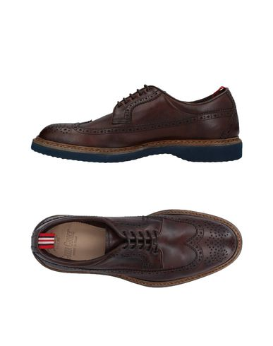 Фото - Обувь на шнурках от GREEN GEORGE темно-коричневого цвета