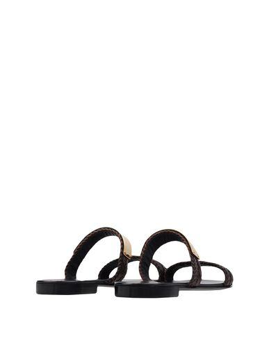 Фото 2 - Мужские сандали  темно-коричневого цвета