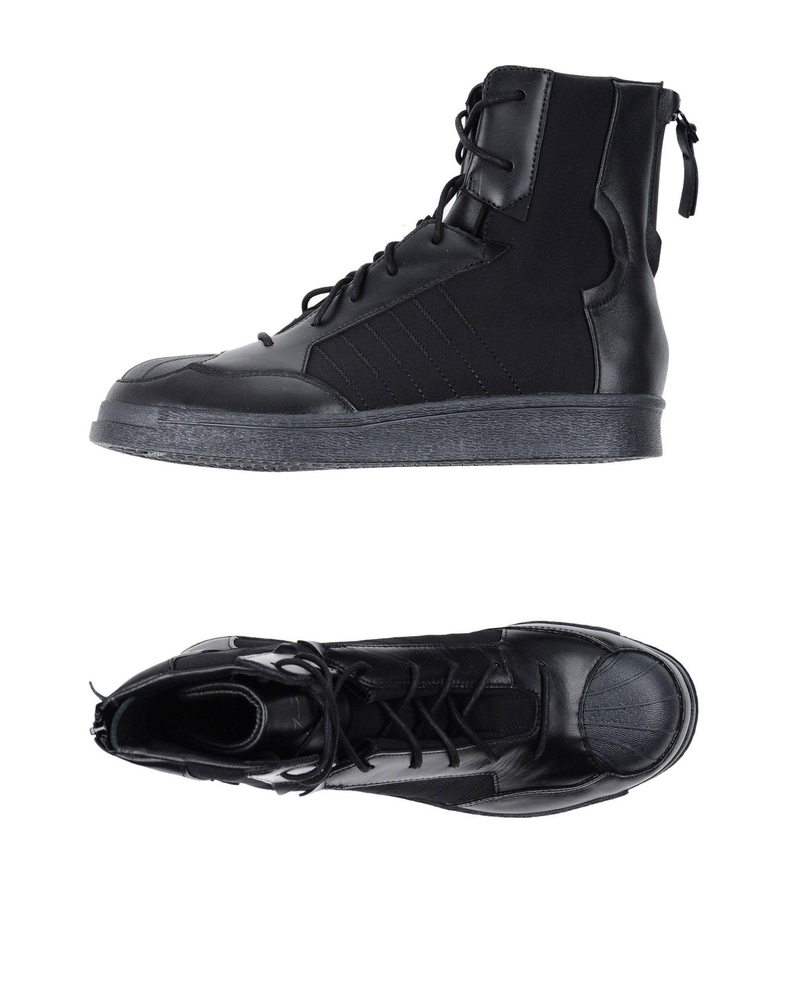 цены на ADIDAS by YOHJI YAMAMOTO Высокие кеды и кроссовки в интернет-магазинах
