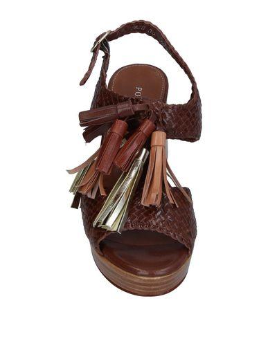 Фото 2 - Женские сандали PONS QUINTANA цвет какао