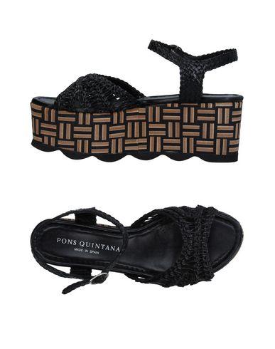 Фото - Женские сандали PONS QUINTANA черного цвета