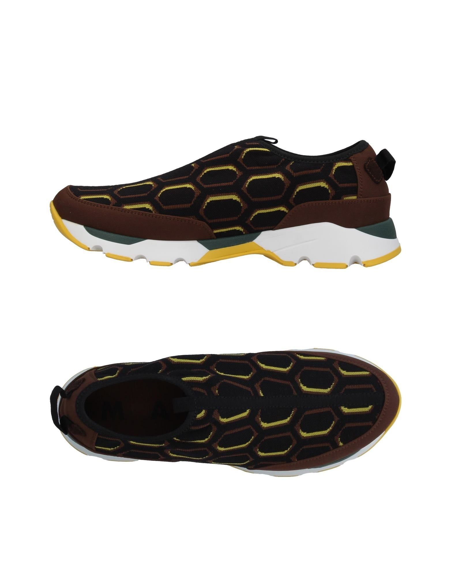 brooks низкие кеды и кроссовки MARNI Низкие кеды и кроссовки