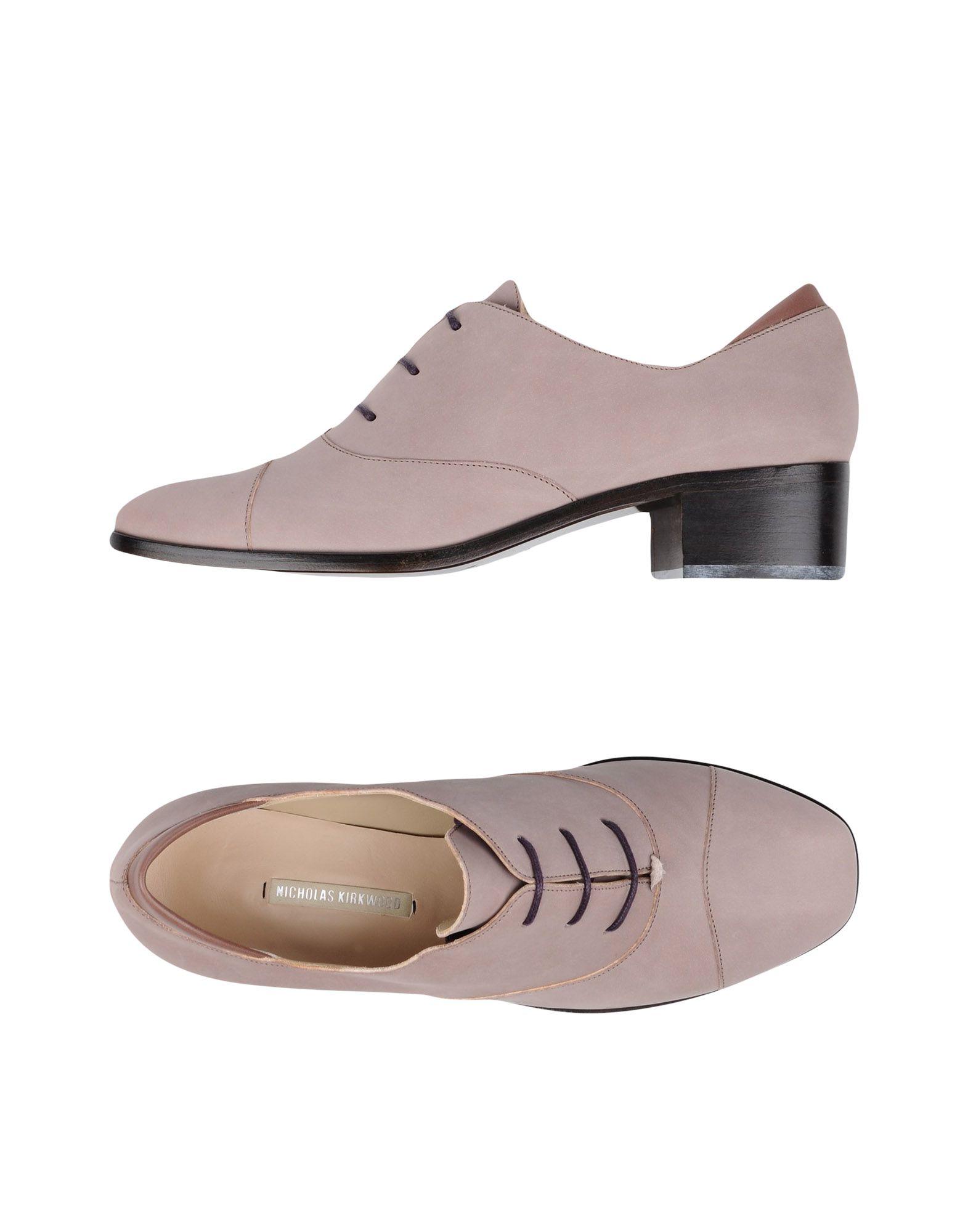 где купить NICHOLAS KIRKWOOD Обувь на шнурках по лучшей цене