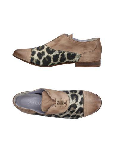 Купить Обувь на шнурках от SAN CRISPINO бежевого цвета