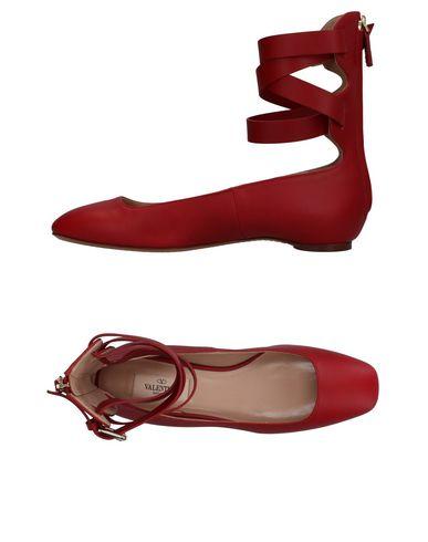 Купить Женские балетки  красного цвета