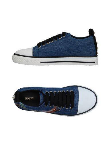 Фото - Низкие кеды и кроссовки от RED(V) синего цвета