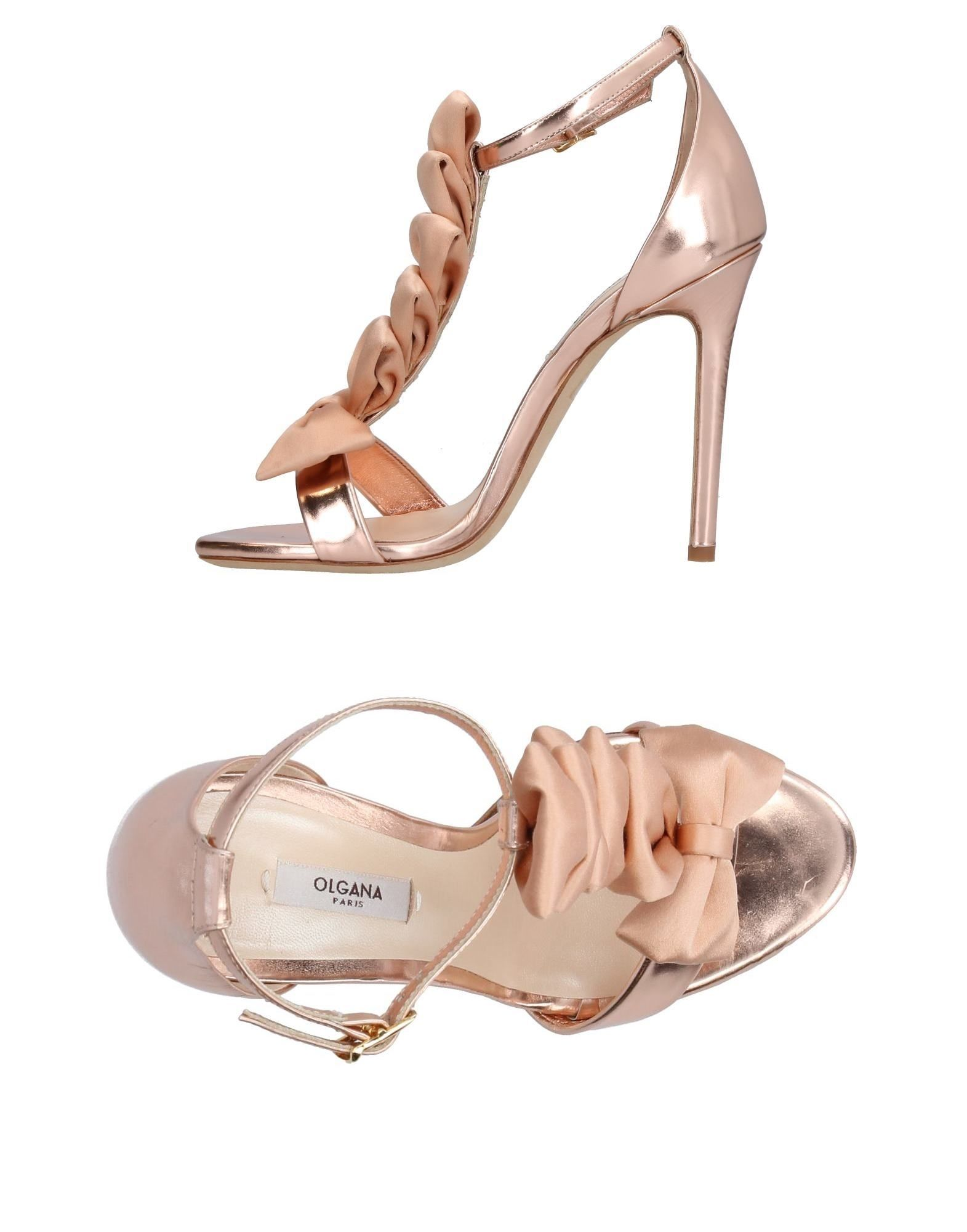 OLGANA PARIS Sandals in Copper