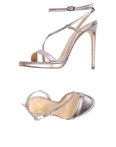 Фото - Женские сандали ICÔNE серебристого цвета