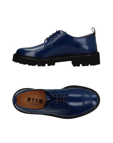 Фото - Обувь на шнурках от MSGM темно-синего цвета