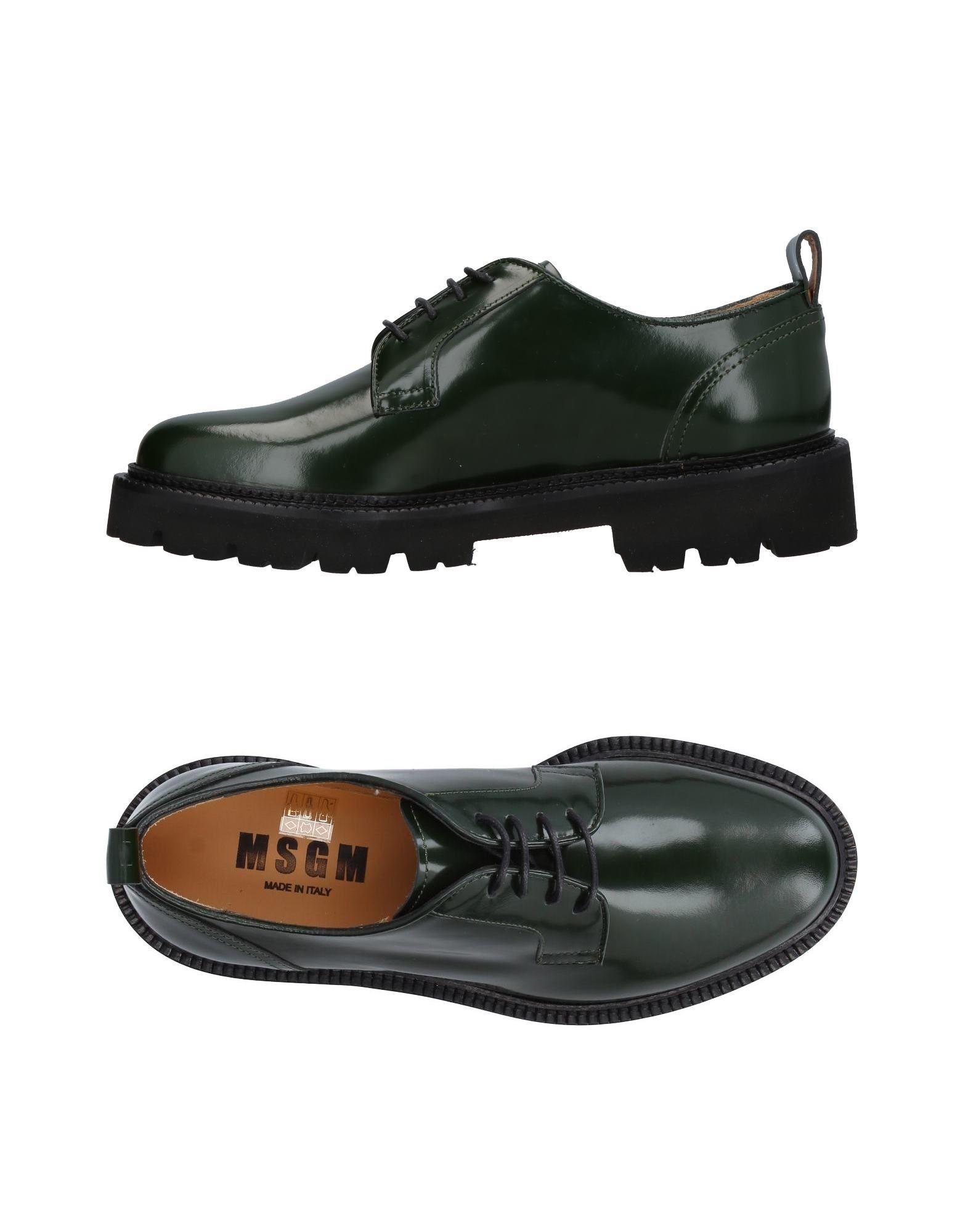 MSGM Обувь на шнурках msgm одежда