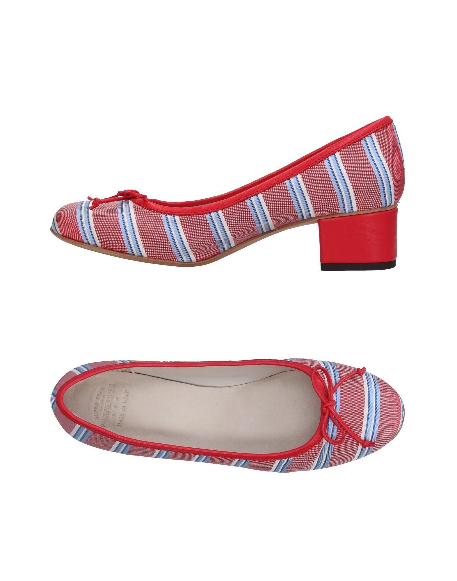 цена PANTOFOLA D'ORO Туфли онлайн в 2017 году