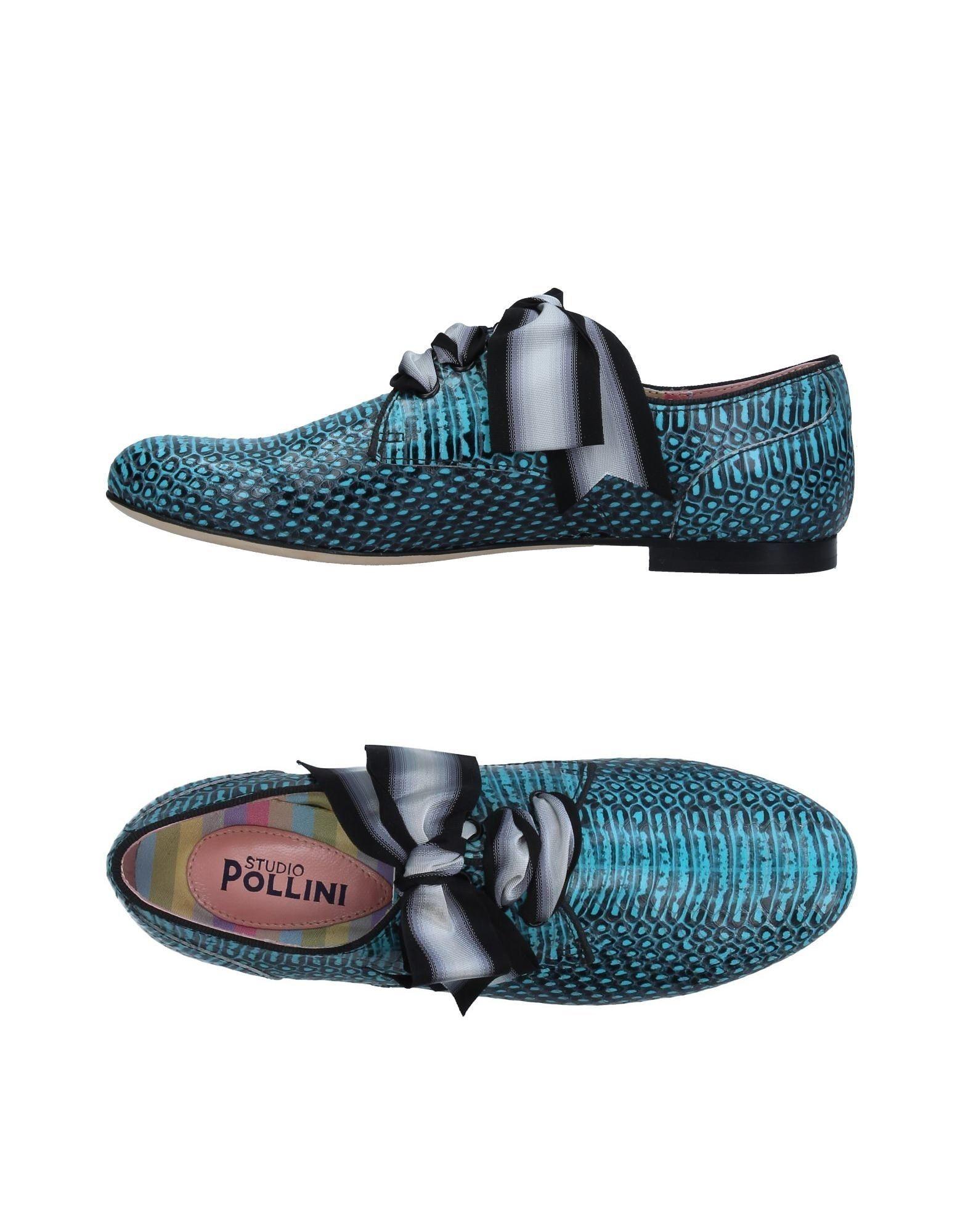 STUDIO POLLINI Обувь на шнурках цены онлайн