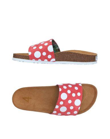 Фото - Женские сандали TOWN красного цвета