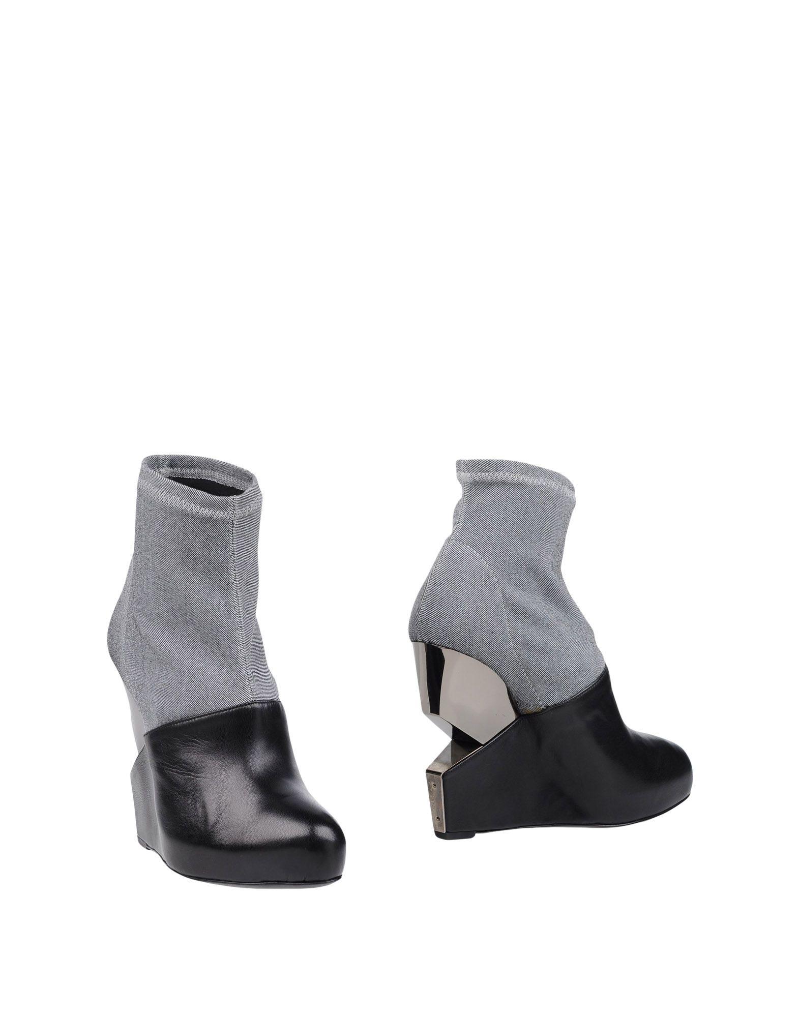 CHARLINE DE LUCA Полусапоги и высокие ботинки цены онлайн