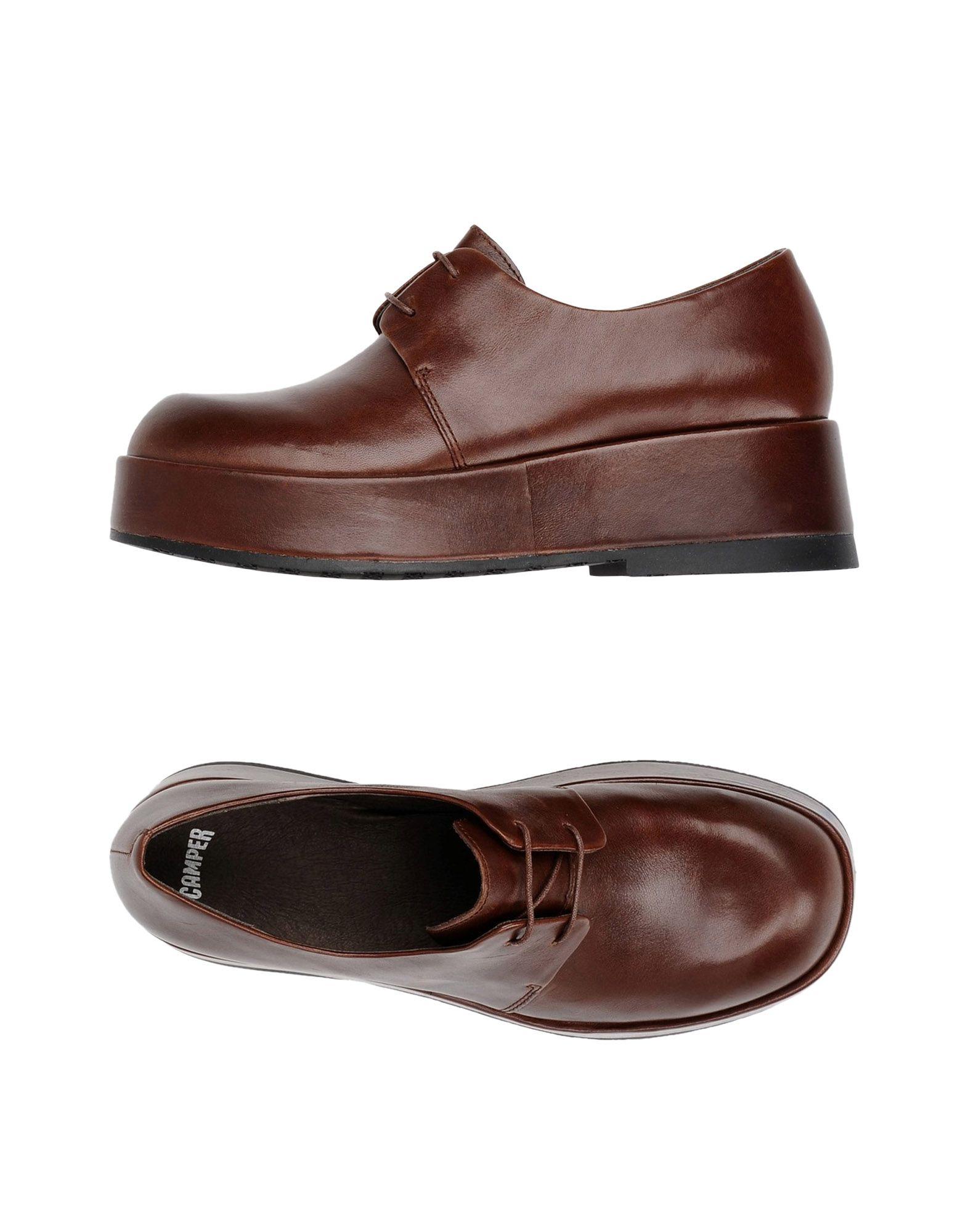 CAMPER Обувь на шнурках цены онлайн