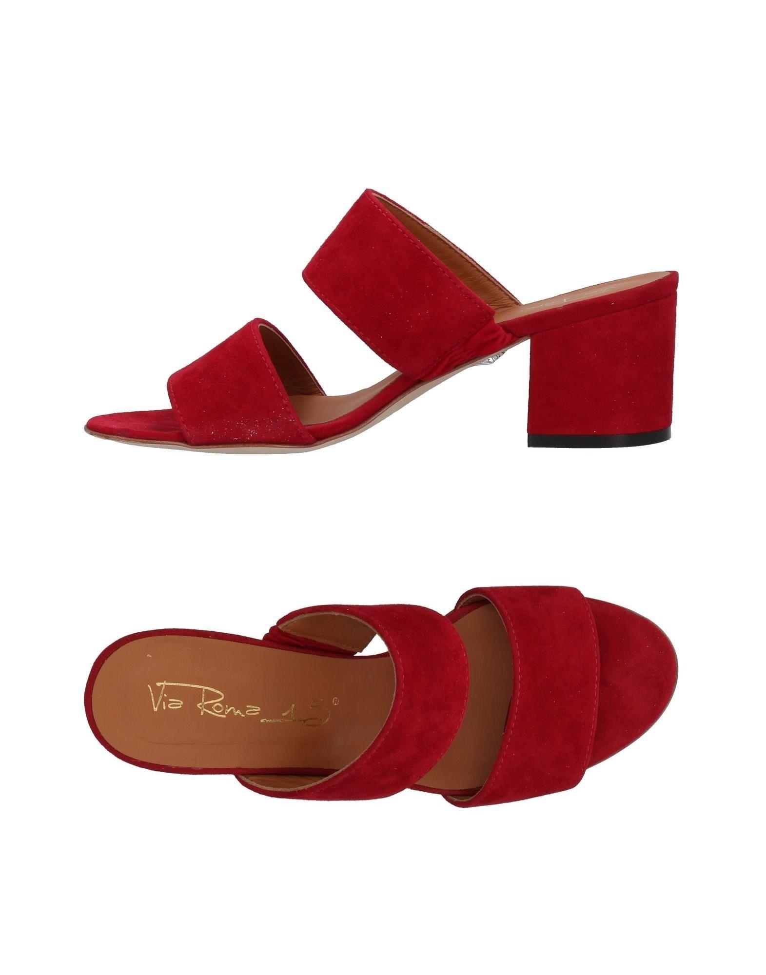 VIA ROMA 15 Сандалии via marte сандалии