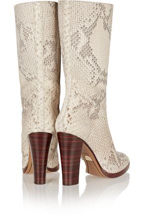 CHLOÉ Python boots