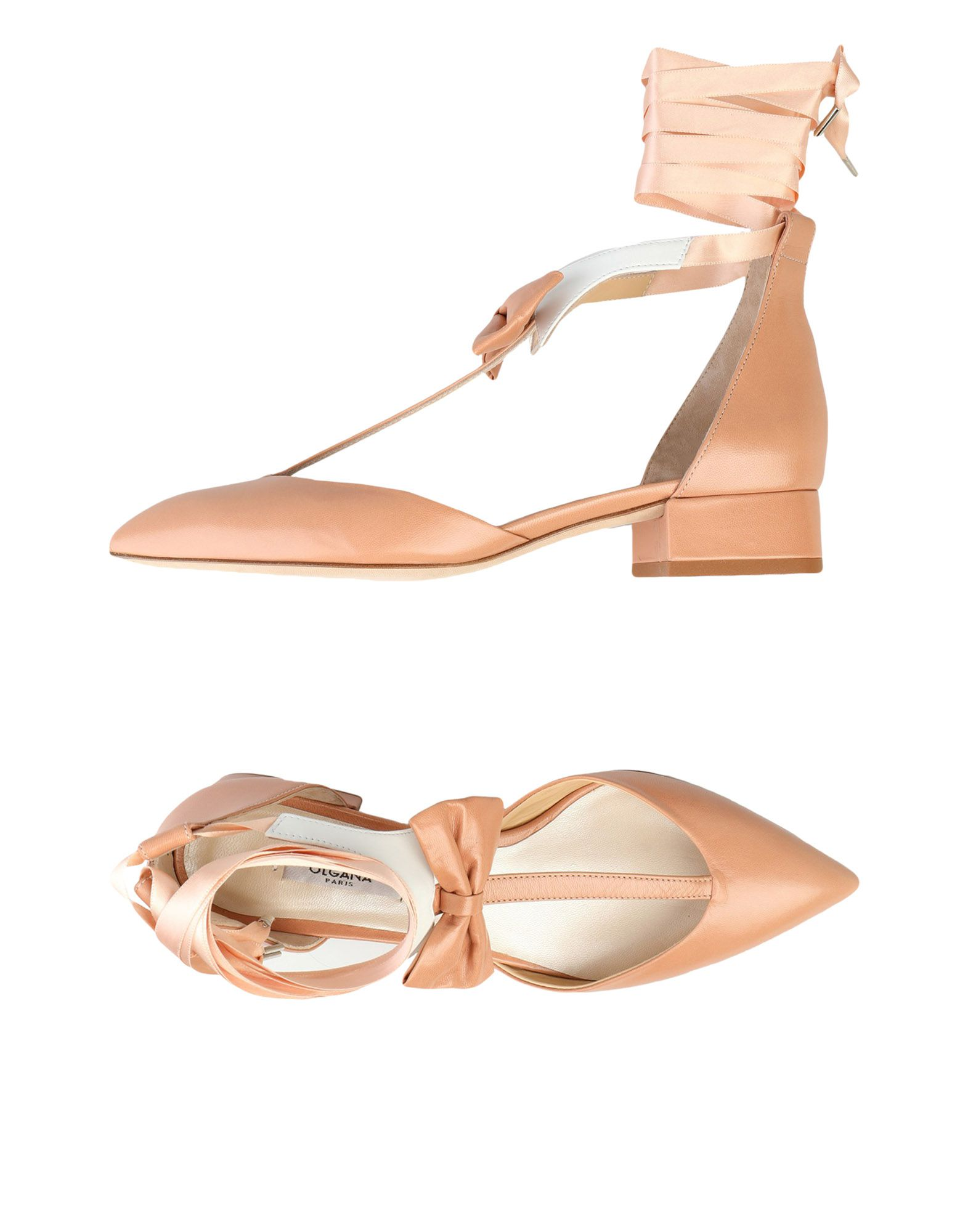 OLGANA PARIS Pump in Pale Pink