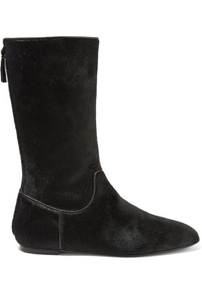 THE ROW Bill calf hair boots