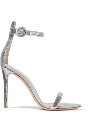 GIANVITO ROSSI Portofino sequined satin sandals