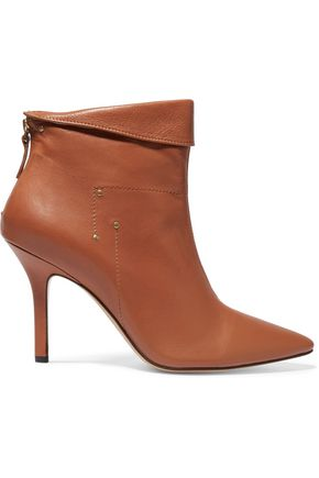 JÉRÔME DREYFUSS Suzanne leather ankle boots