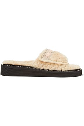 SEE BY CHLOÉ Faux shearling slides