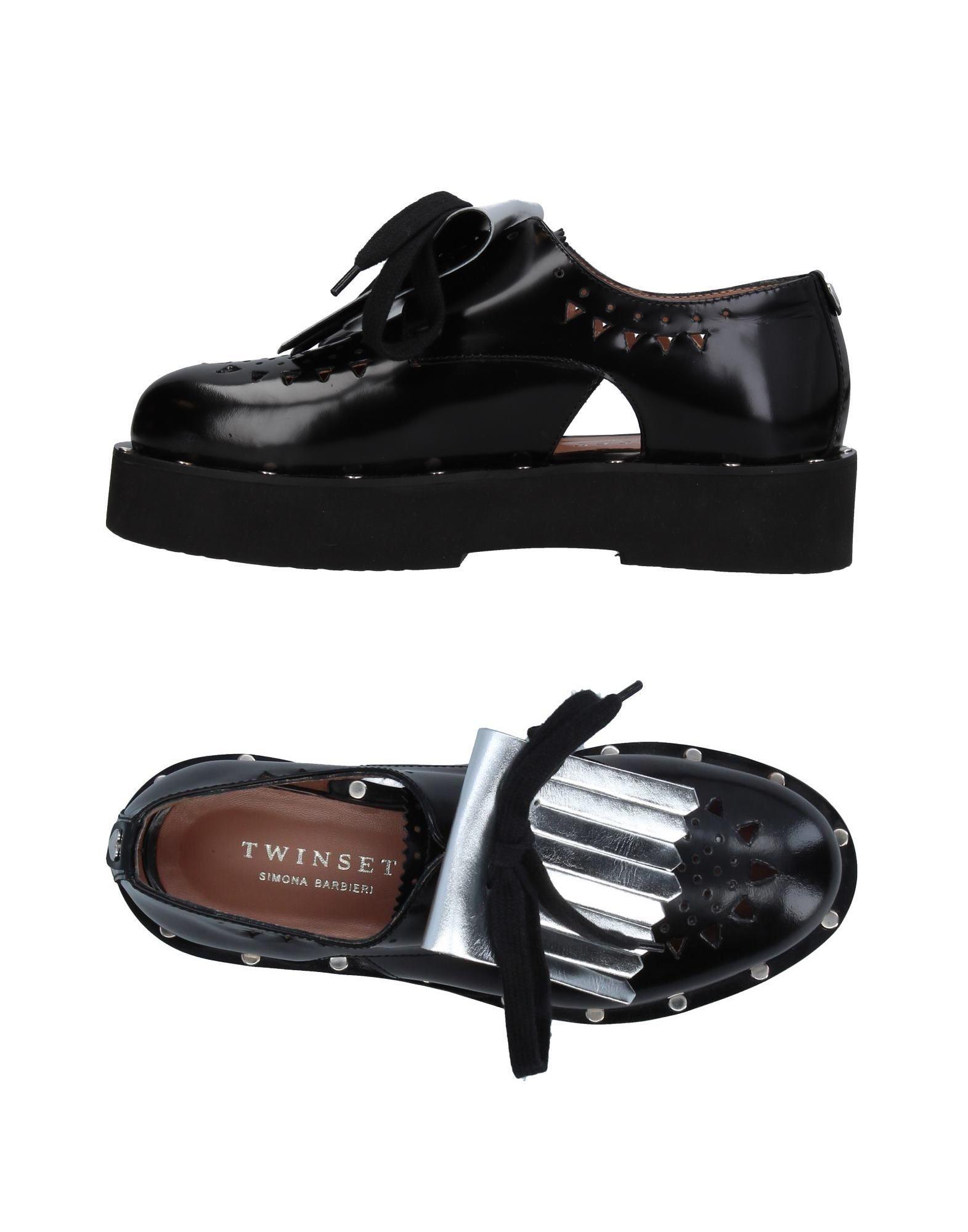 ФОТО twin-set simona barbieri Обувь на шнурках