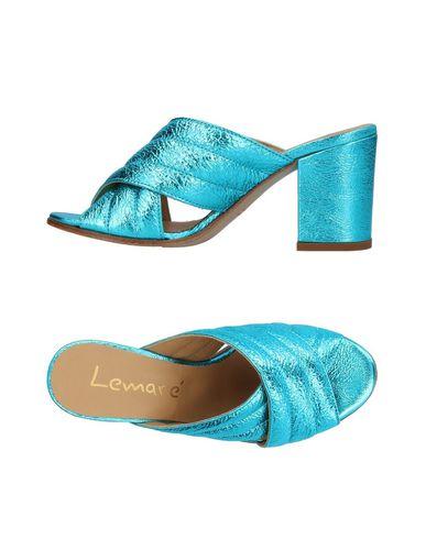 Купить Женские сандали LEMARÉ лазурного цвета