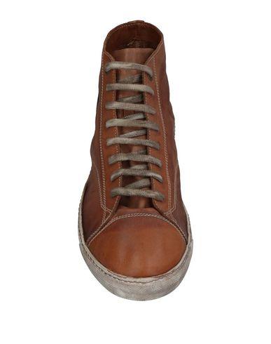 Фото 2 - Высокие кеды и кроссовки от GIORGIO BRATO коричневого цвета