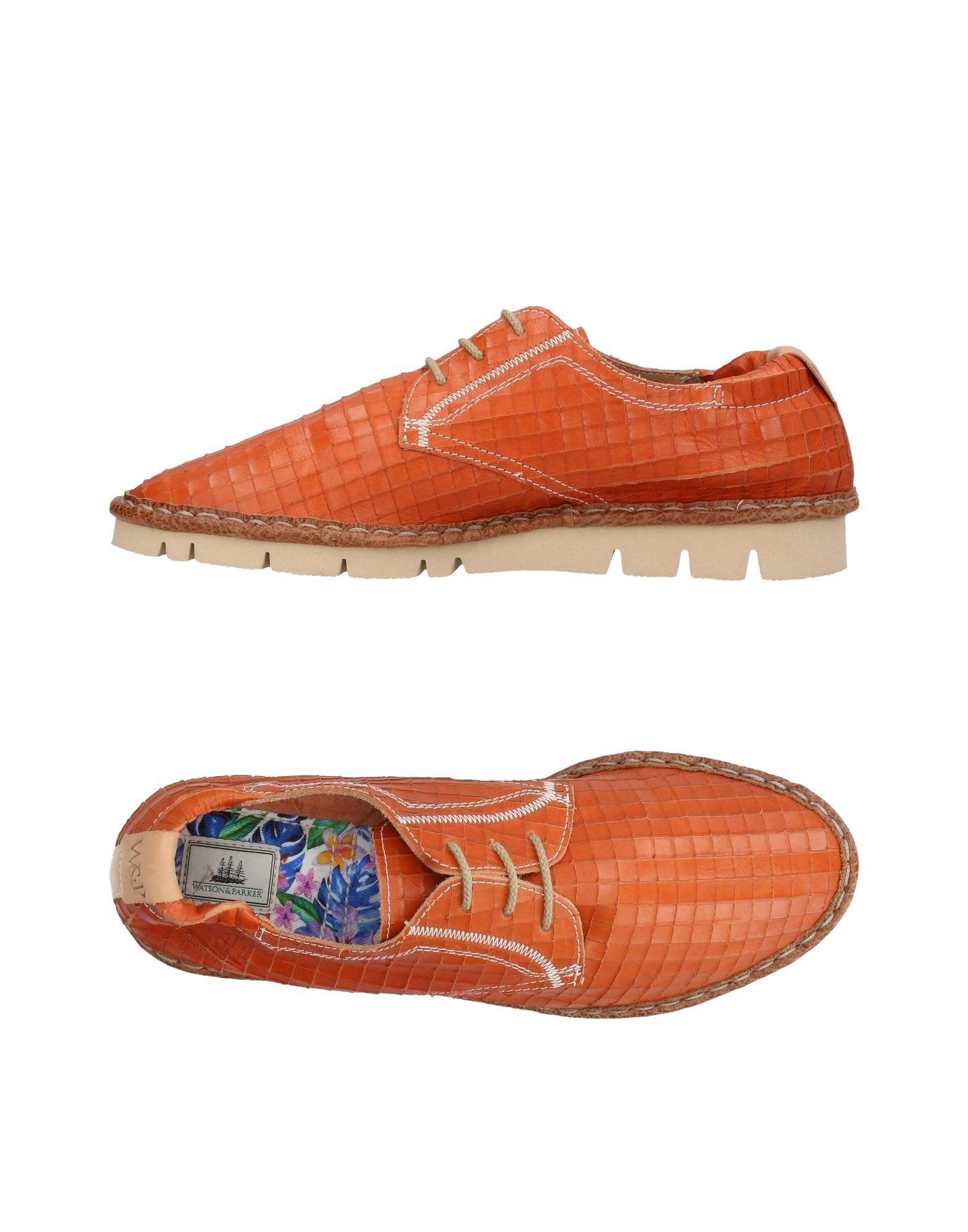 WATSON & PARKER Обувь на шнурках