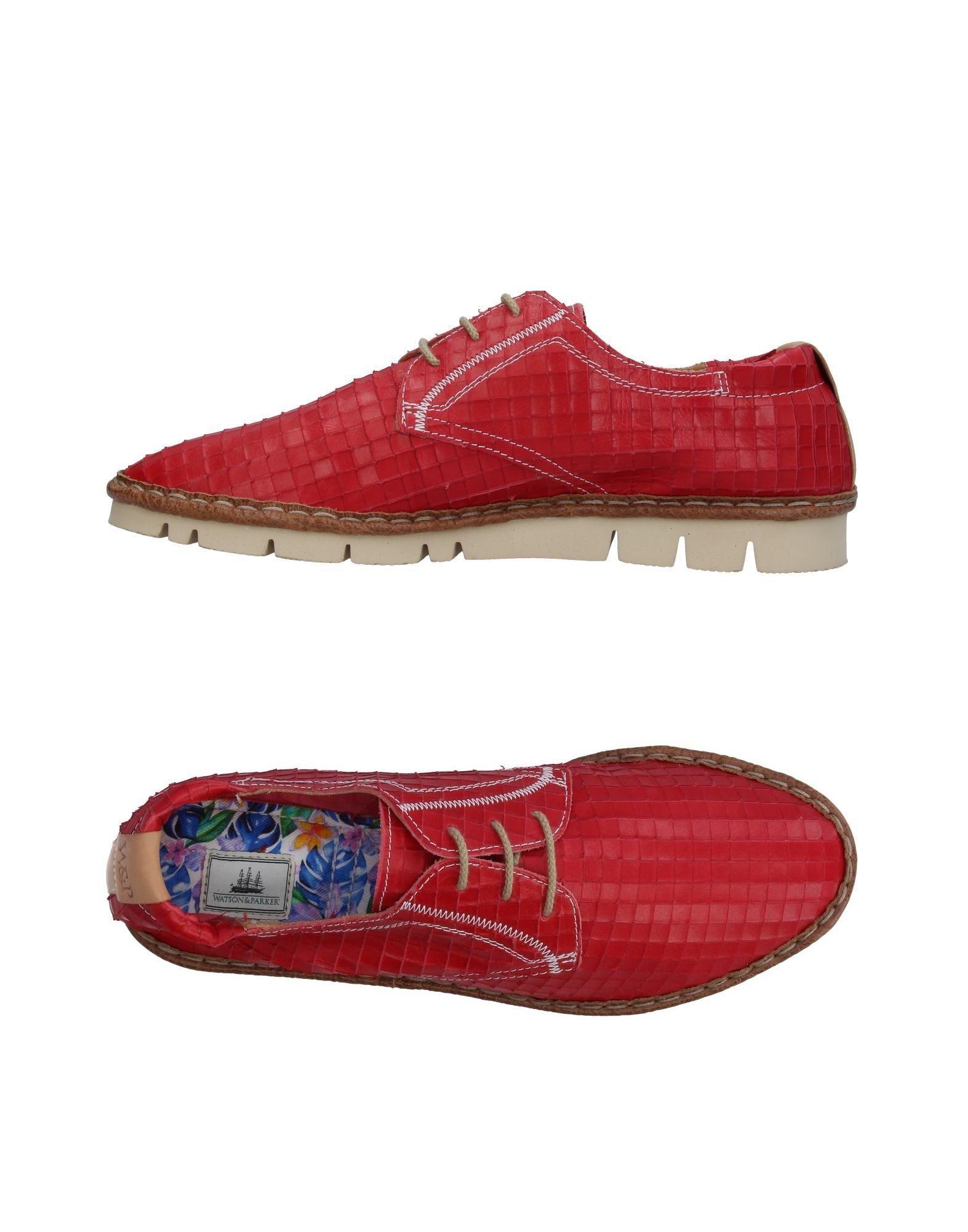WATSON & PARKER Обувь на шнурках newman scott watson dawn english download [a1] wb