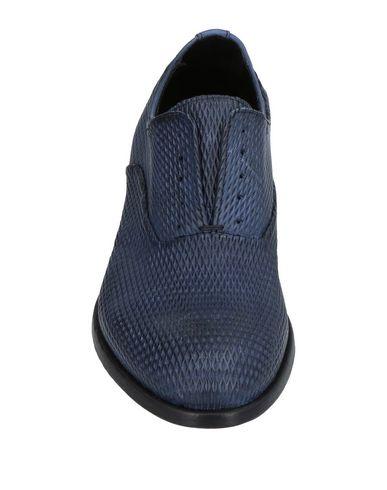 Фото 2 - Обувь на шнурках грифельно-синего цвета