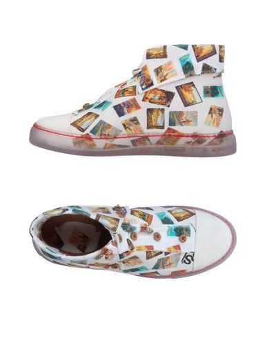 Sneackers Bianco donna SCIUSCERT Sneakers&Tennis shoes alte donna