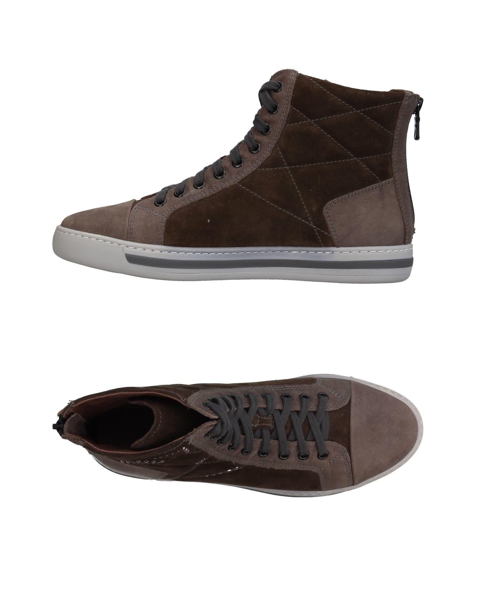 цена NERO GIARDINI Высокие кеды и кроссовки онлайн в 2017 году